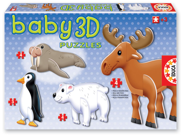 Baby 3D Puzzle - Arctic Animals Other Animals 3D Puzzle