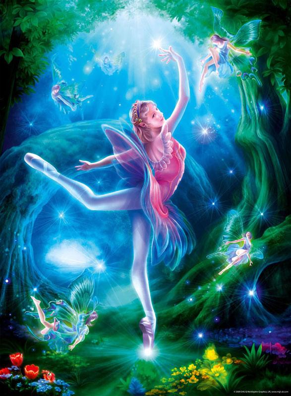 Ballet Lesson Fantasy Children's Puzzles