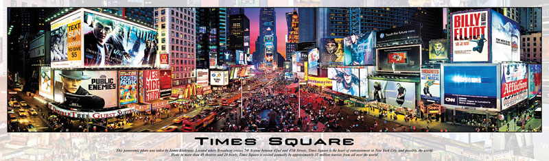 Times Square II Cities Jigsaw Puzzle