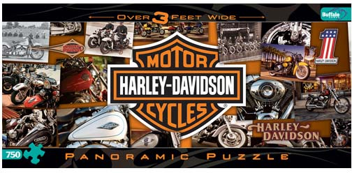 Harley-Davidson Motorcycles Jigsaw Puzzle
