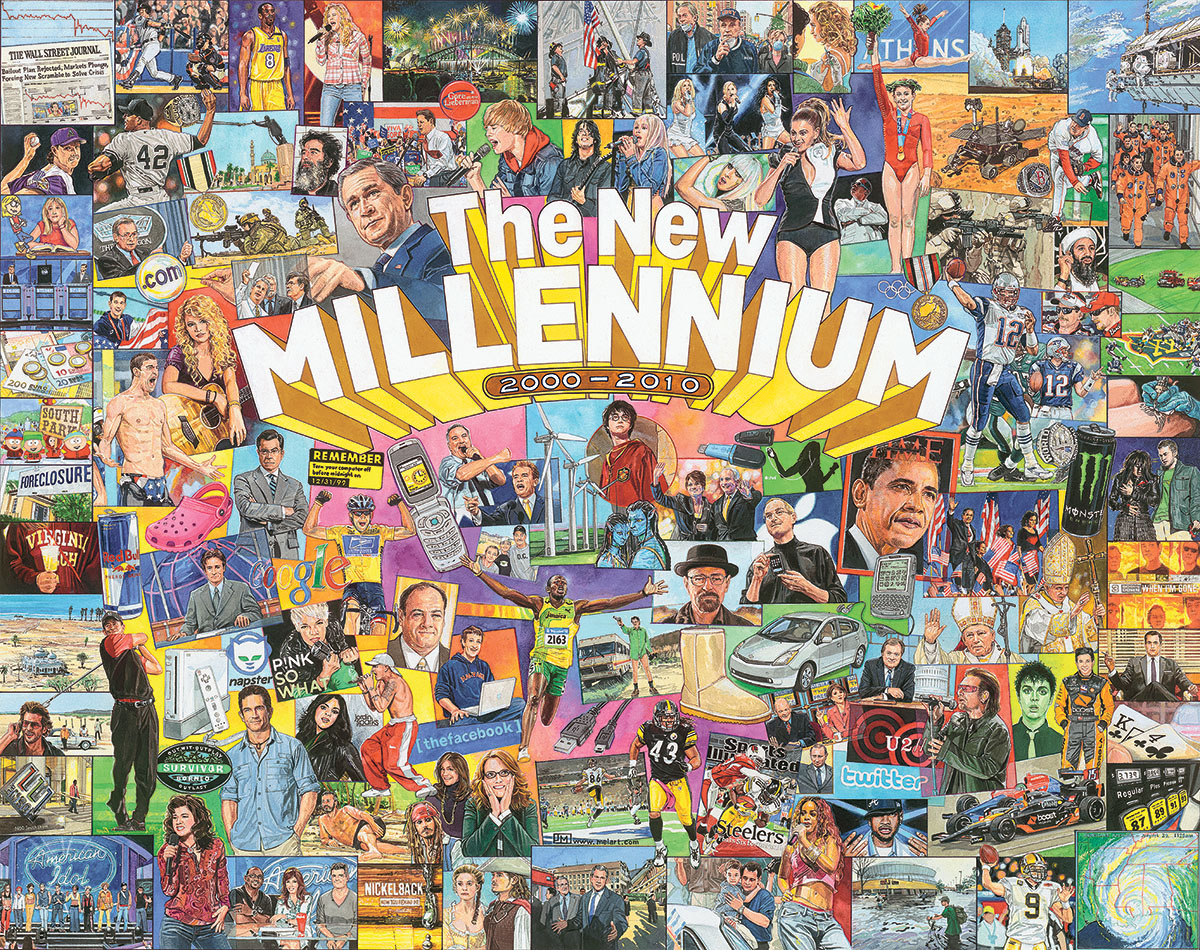 The New Millennium Collage Jigsaw Puzzle