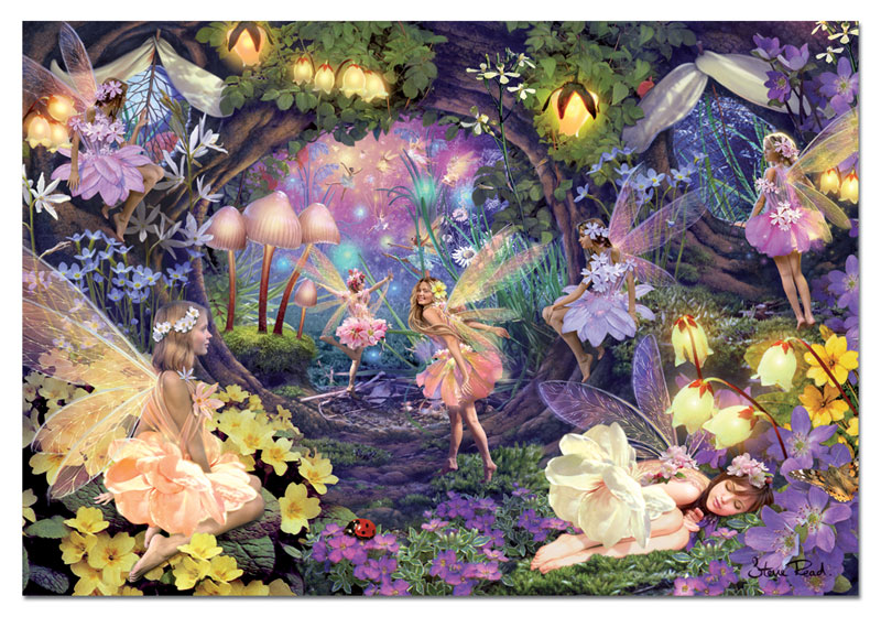 Fairy Hollow Fairies Jigsaw Puzzle