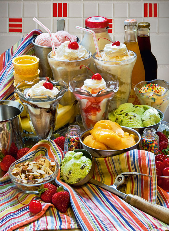 Just Desserts Food and Drink Jigsaw Puzzle