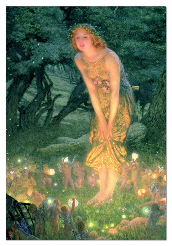Midsummer Eve Fairies Jigsaw Puzzle
