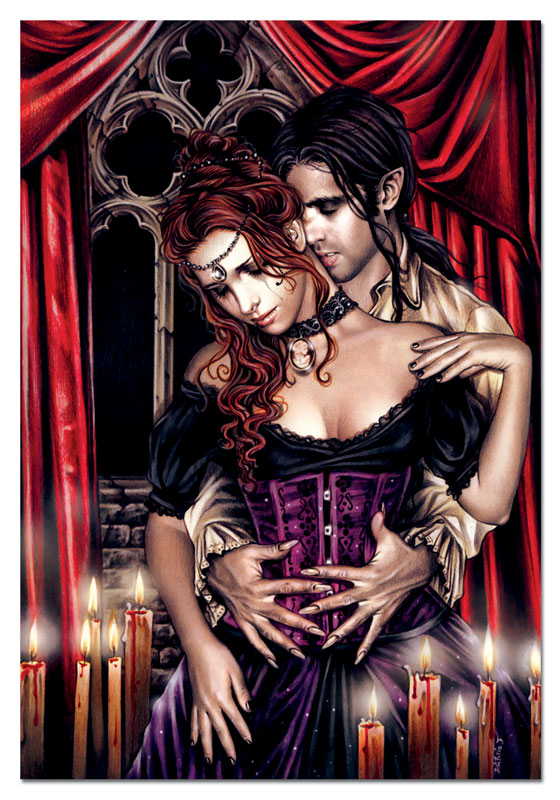 The Lovers Gothic Jigsaw Puzzle