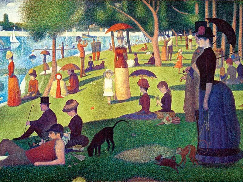La Grande Jatte by Georges Seurat Impressionism Jigsaw Puzzle
