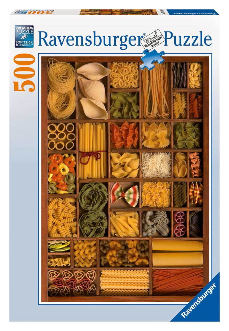 Plenty of Pasta Food and Drink Jigsaw Puzzle