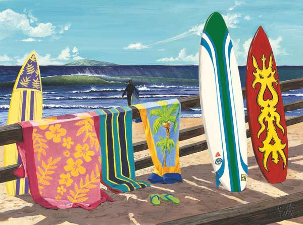 Hang Loose Beach Jigsaw Puzzle