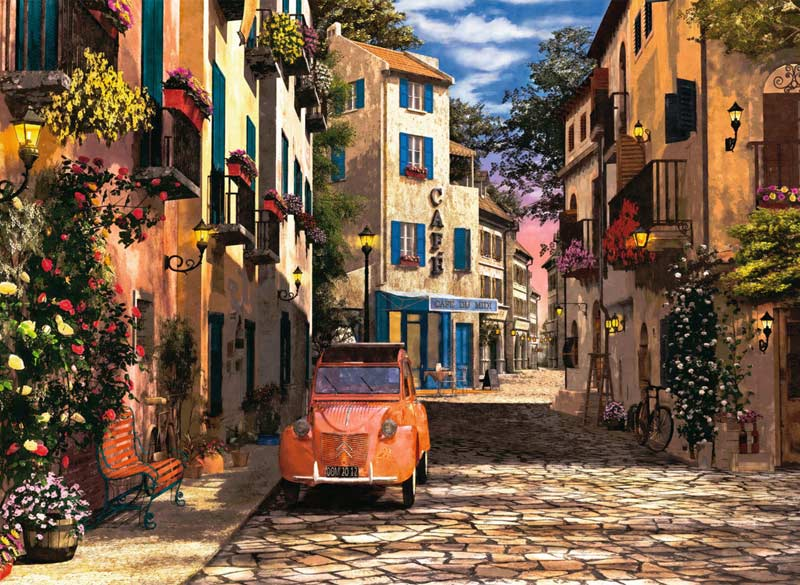 In the Heart of Southern France - Scratch and Dent Travel Jigsaw Puzzle