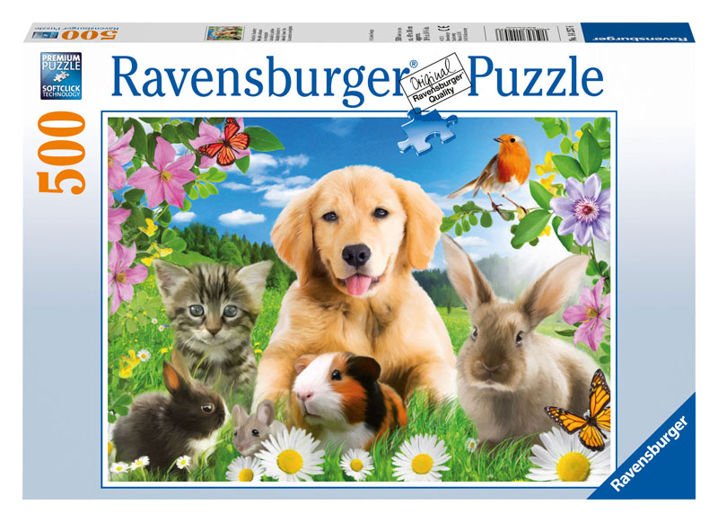 Adorable House Pets Dogs Jigsaw Puzzle