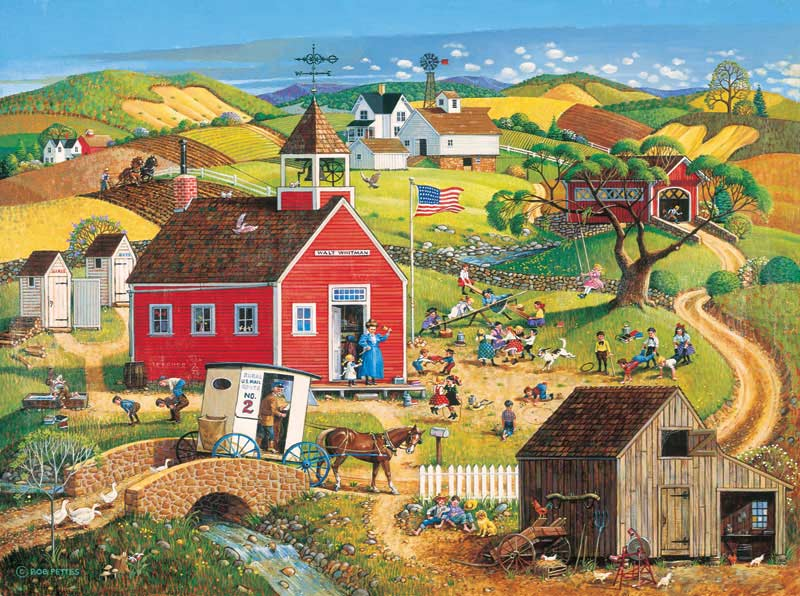 Golden Rule Folk Art Jigsaw Puzzle