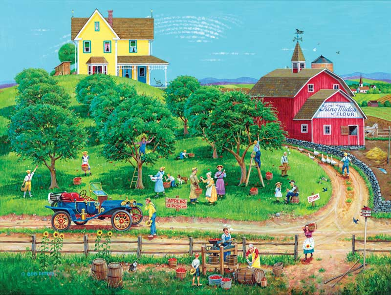 Appletime Countryside Jigsaw Puzzle
