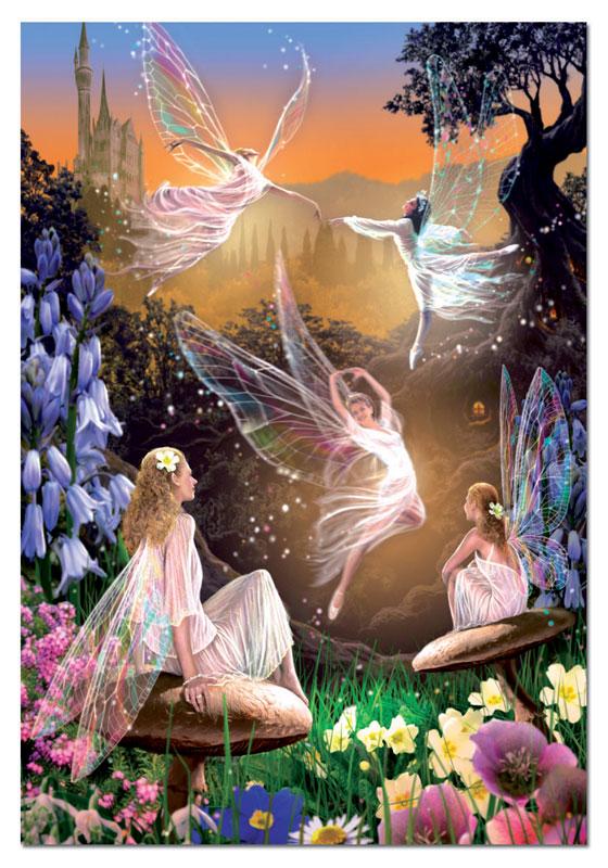 Fairy Ballet Fairies Jigsaw Puzzle