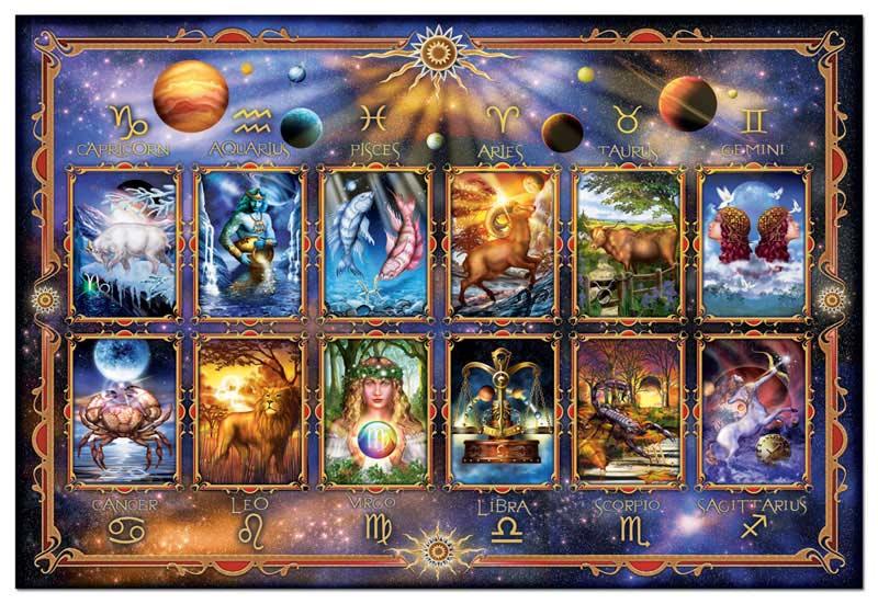 Zodiac, Ciro Marchetti Space Jigsaw Puzzle