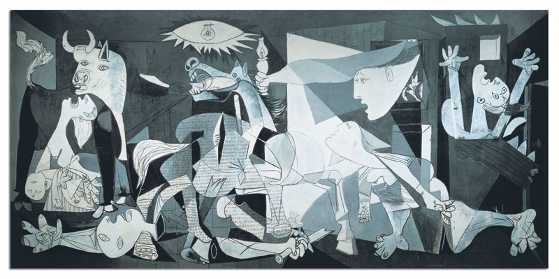 Guernica - Miniature Contemporary & Modern Art Jigsaw Puzzle