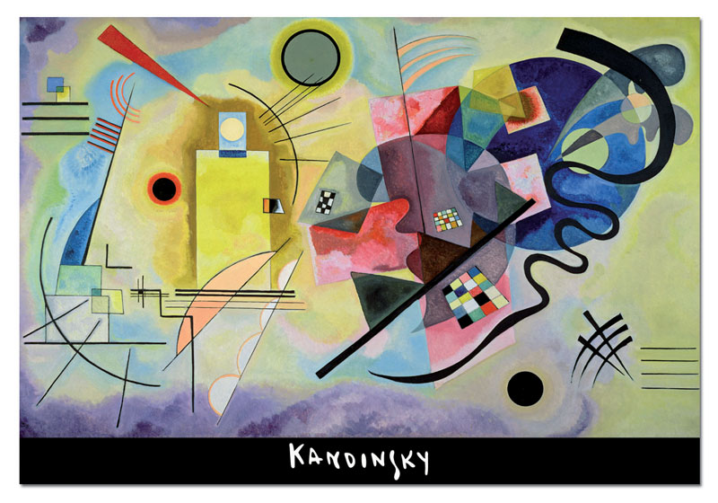 Yellow-Red-Blue, W. Kandinsky Jigsaw Puzzle