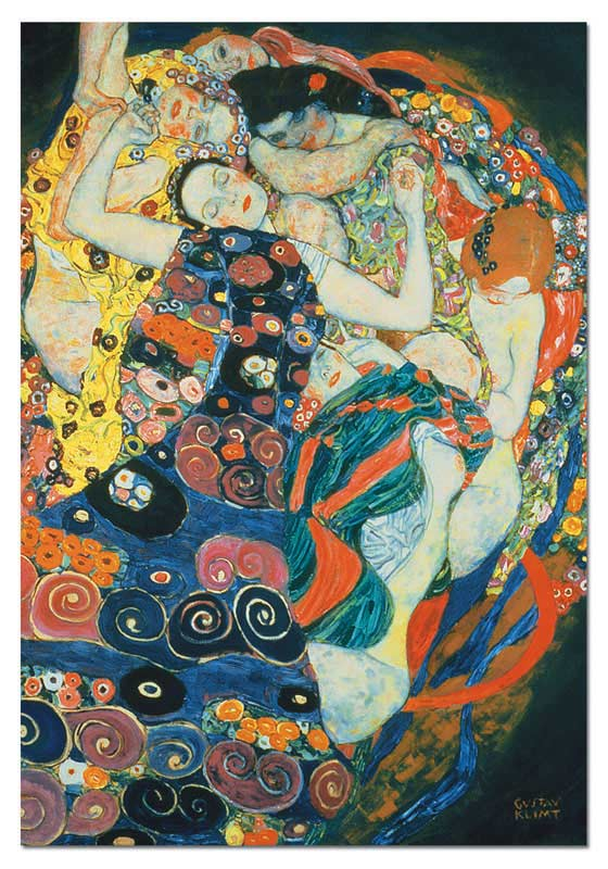 The Maiden, Klimt Jigsaw Puzzle
