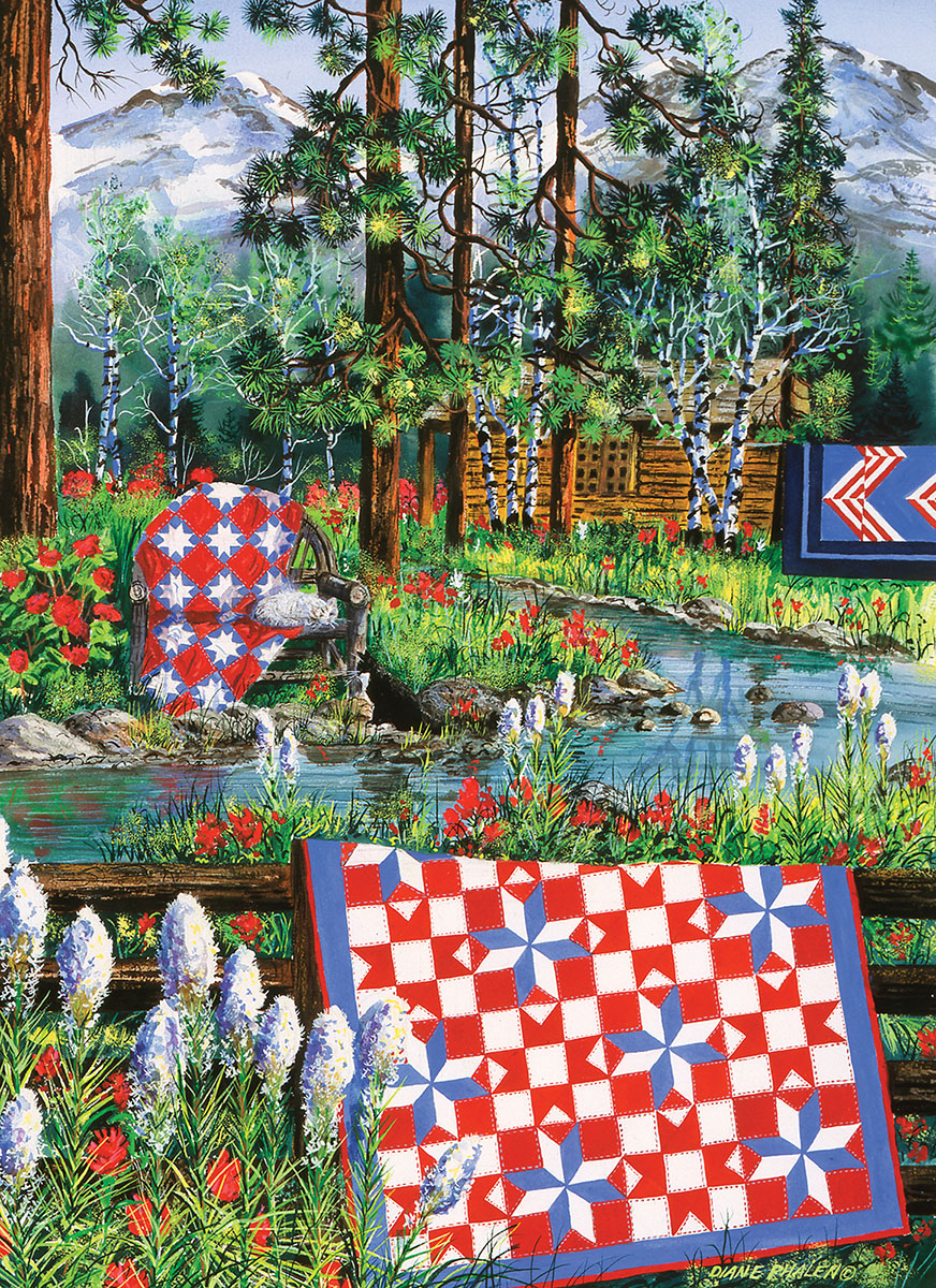 Summer Dream Countryside Jigsaw Puzzle