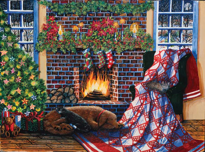 Not a Creature was Stirring Christmas Jigsaw Puzzle