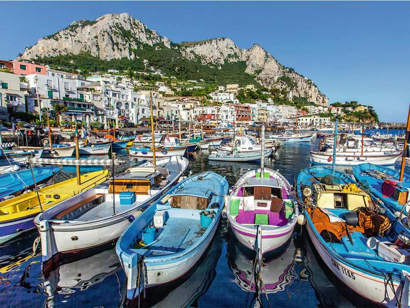 Colorful Marina Summer Jigsaw Puzzle
