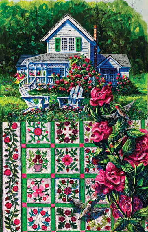 Rose Sampler Jigsaw Puzzle