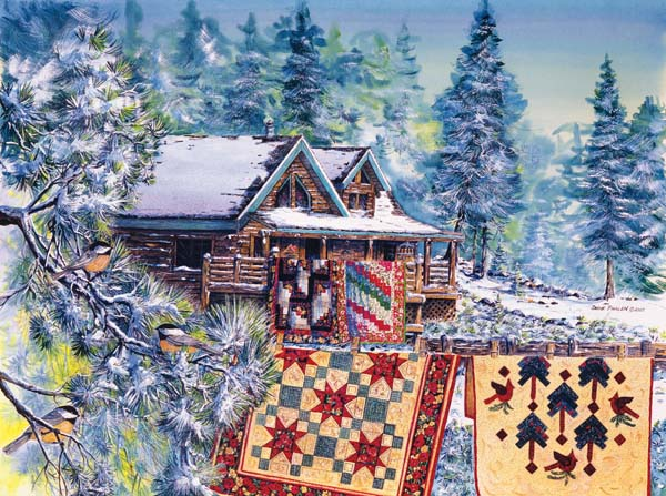 Bear's Paw Ranch Quilting & Crafts Jigsaw Puzzle