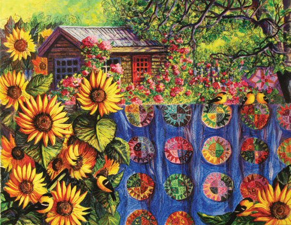 The Potting Shed Quilting & Crafts Jigsaw Puzzle