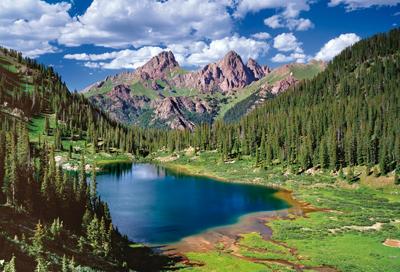 Montanas Needle Mountains Jigsaw Puzzle