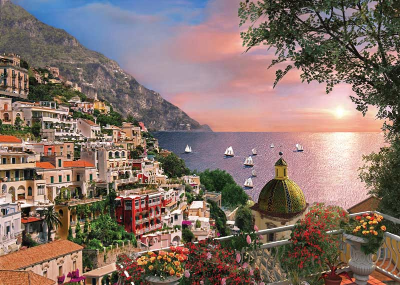 Positano - Scratch and Dent Italy Jigsaw Puzzle