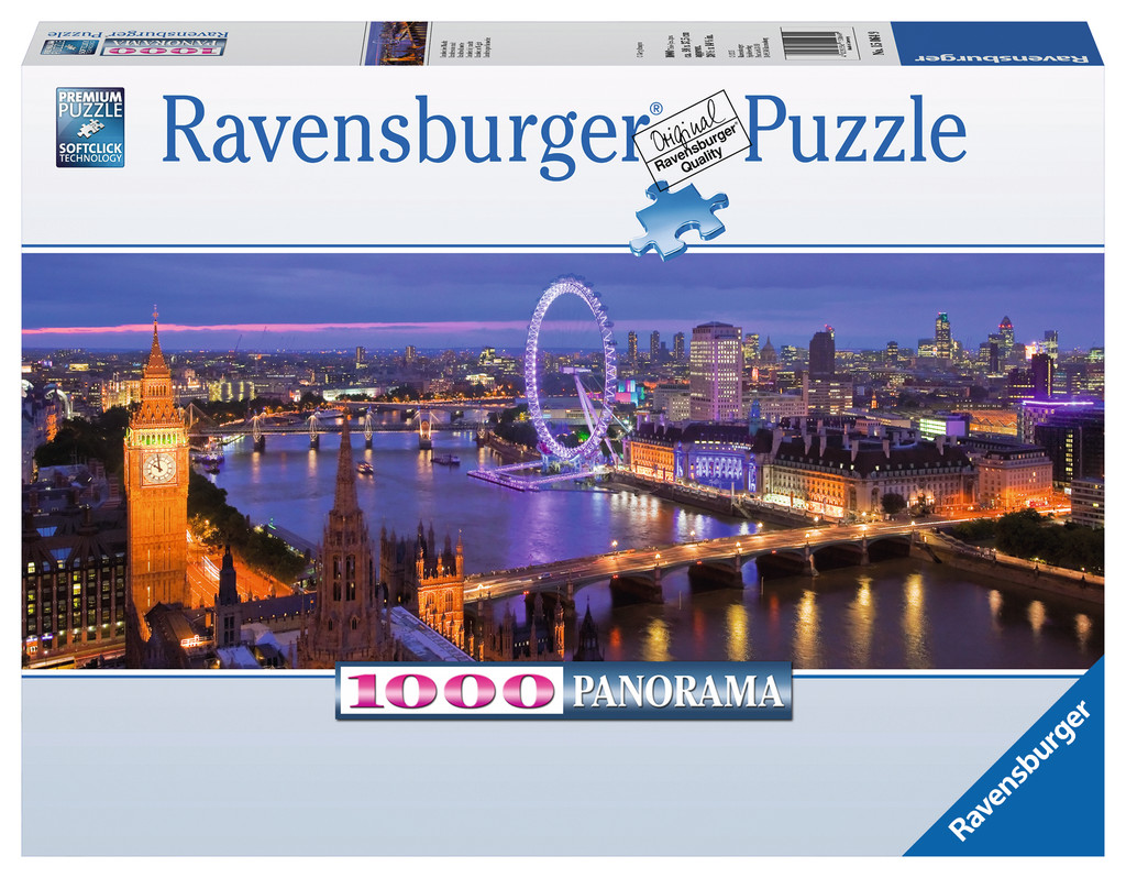 London at Night - Scratch and Dent Photography Jigsaw Puzzle