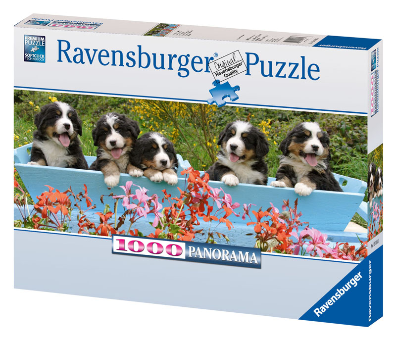 Bernese Mountain Dogs Dogs Jigsaw Puzzle
