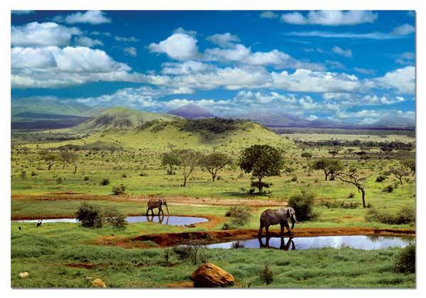 Tsavo National Park, Kenya Travel Jigsaw Puzzle