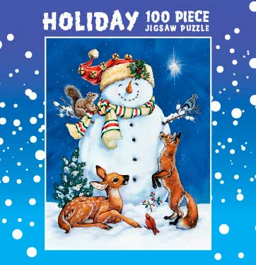 Mini Christmas Puzzles - Frosty and Friends Christmas Jigsaw Puzzle