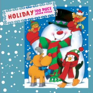 Mini Christmas Puzzles - Snowman and Winter Friends Christmas Jigsaw Puzzle