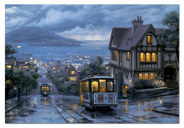 Evening Journey San Francisco Jigsaw Puzzle