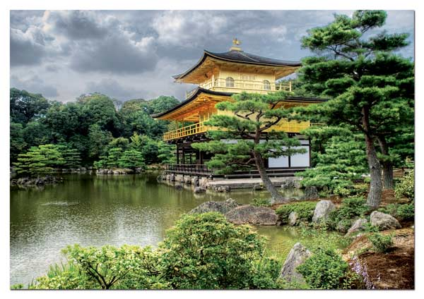 Temple of the Golden Pavillion Travel Jigsaw Puzzle