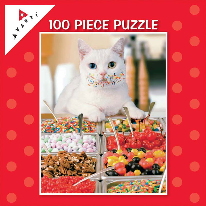 Mini Pet Puzzles - Sprinkle Whiskers Cats Jigsaw Puzzle