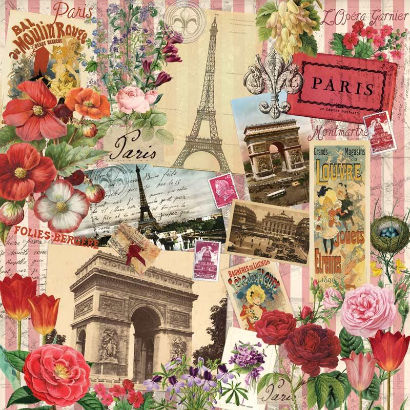 Paris in Spring Paris Jigsaw Puzzle