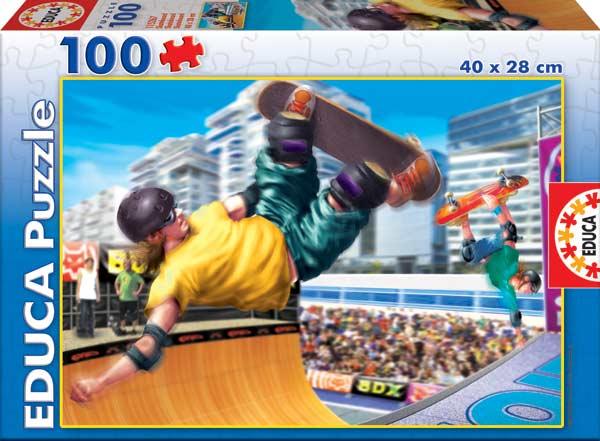 Skateboard Sports Jigsaw Puzzle