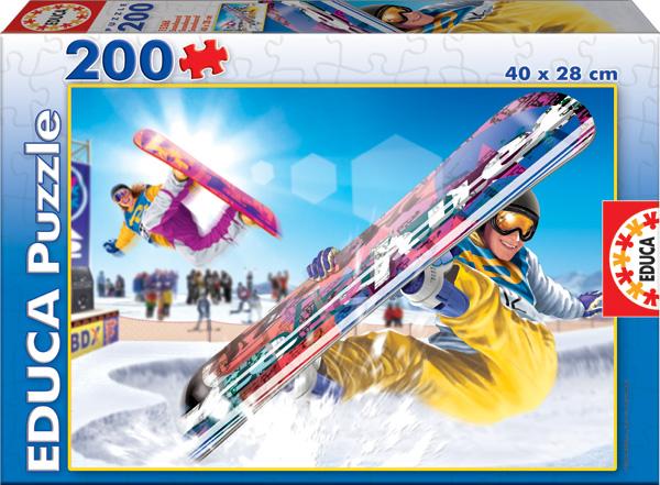 Snowboard Sports Jigsaw Puzzle