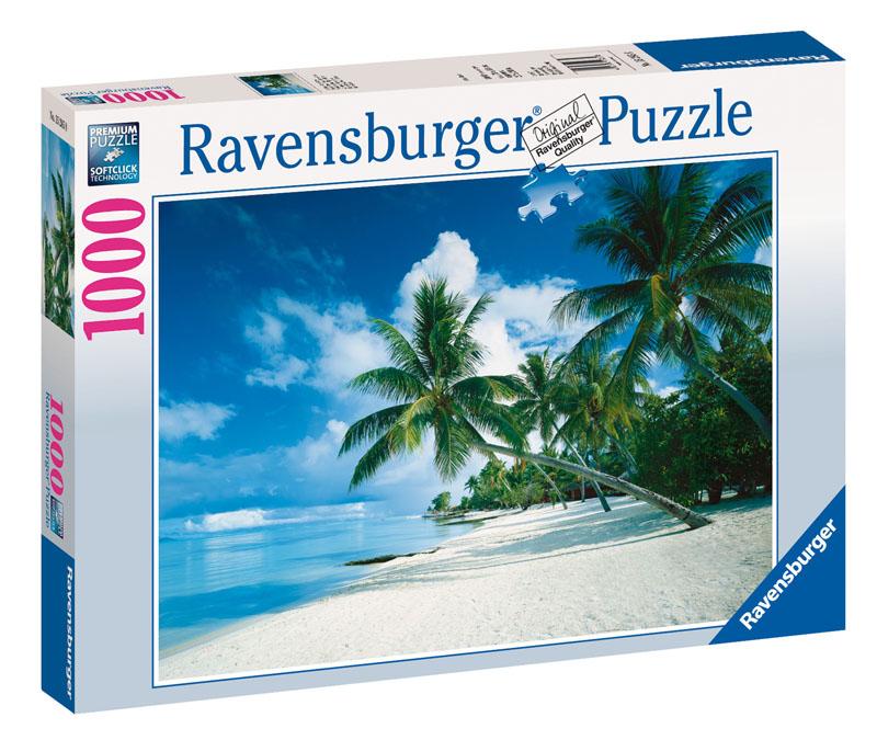 Bora Bora, South Seas Beach Jigsaw Puzzle
