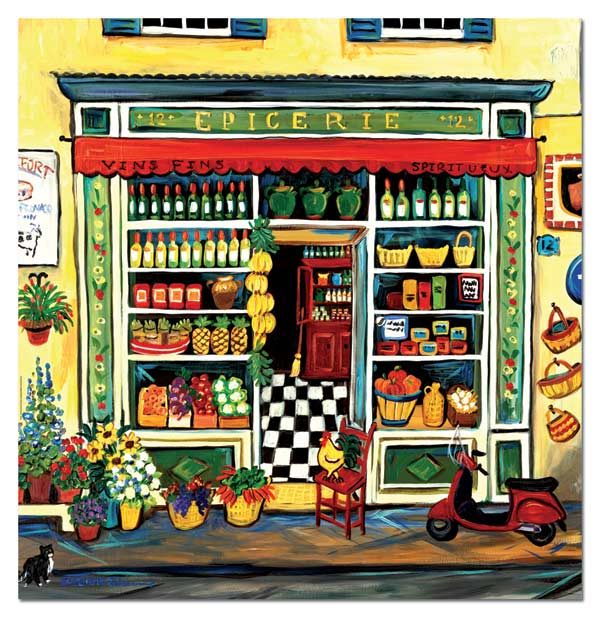 Grocery Shop Food and Drink Jigsaw Puzzle