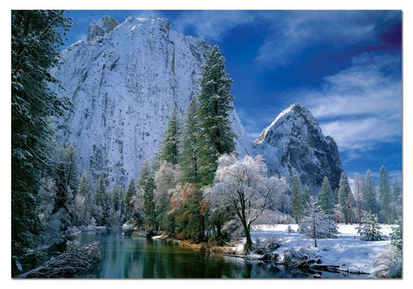 Yosemite National Park Travel Jigsaw Puzzle