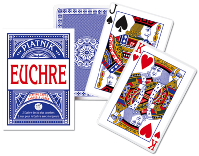 Euchre, Single Deck Playing Cards