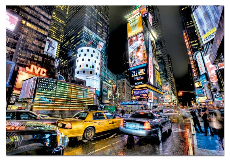 Times Square, New York New York Jigsaw Puzzle