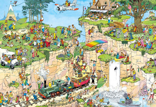The Golf Course - 1,500 Sports Jigsaw Puzzle