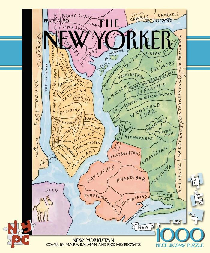 New yorkistan the new yorker jigsaw puzzle puzzlewarehouse new yorkistan the new yorker maps geography jigsaw puzzle gumiabroncs Images