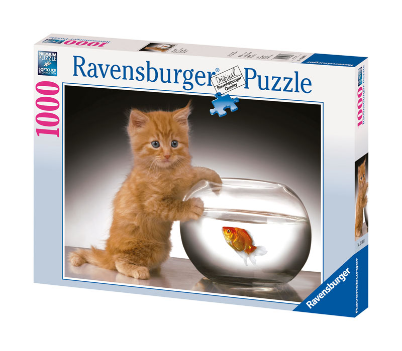 Pawing for Gold Cats Jigsaw Puzzle