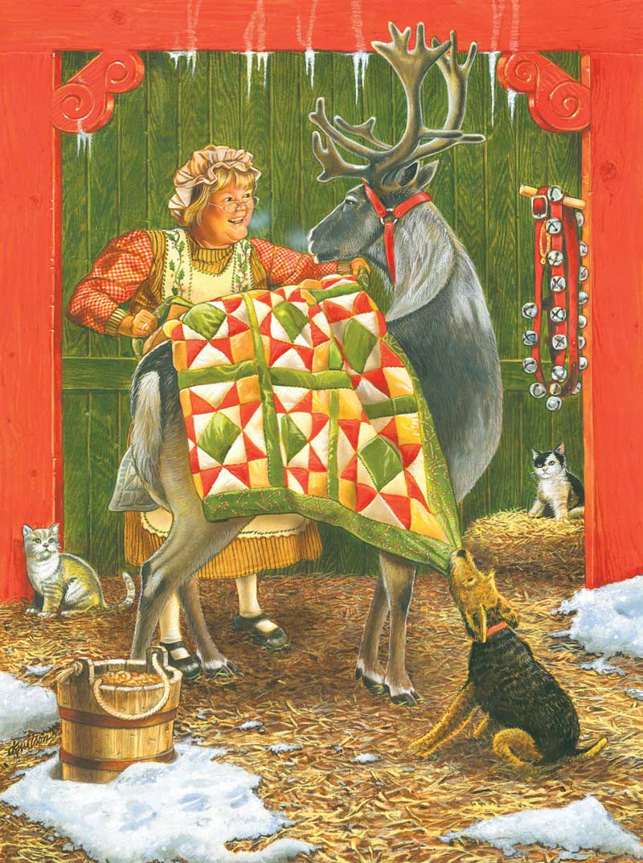 Warm Wishes Christmas Jigsaw Puzzle