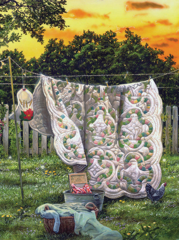 Laundry Time Crafts & Textile Arts Jigsaw Puzzle